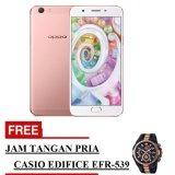 Harga Hemat Oppo F1S Selfie Expert Smartphone Rose Gold 32 Gb Free Jam Tangan Pria