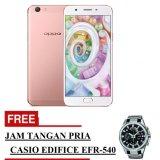 Promo Oppo F1S Selfie Expert Smartphone Rose Gold 32 Gb Free Jam Tangan Pria