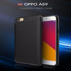 OPPO F1S/A59 XCASE Slim Rugged Case - Black Carbon