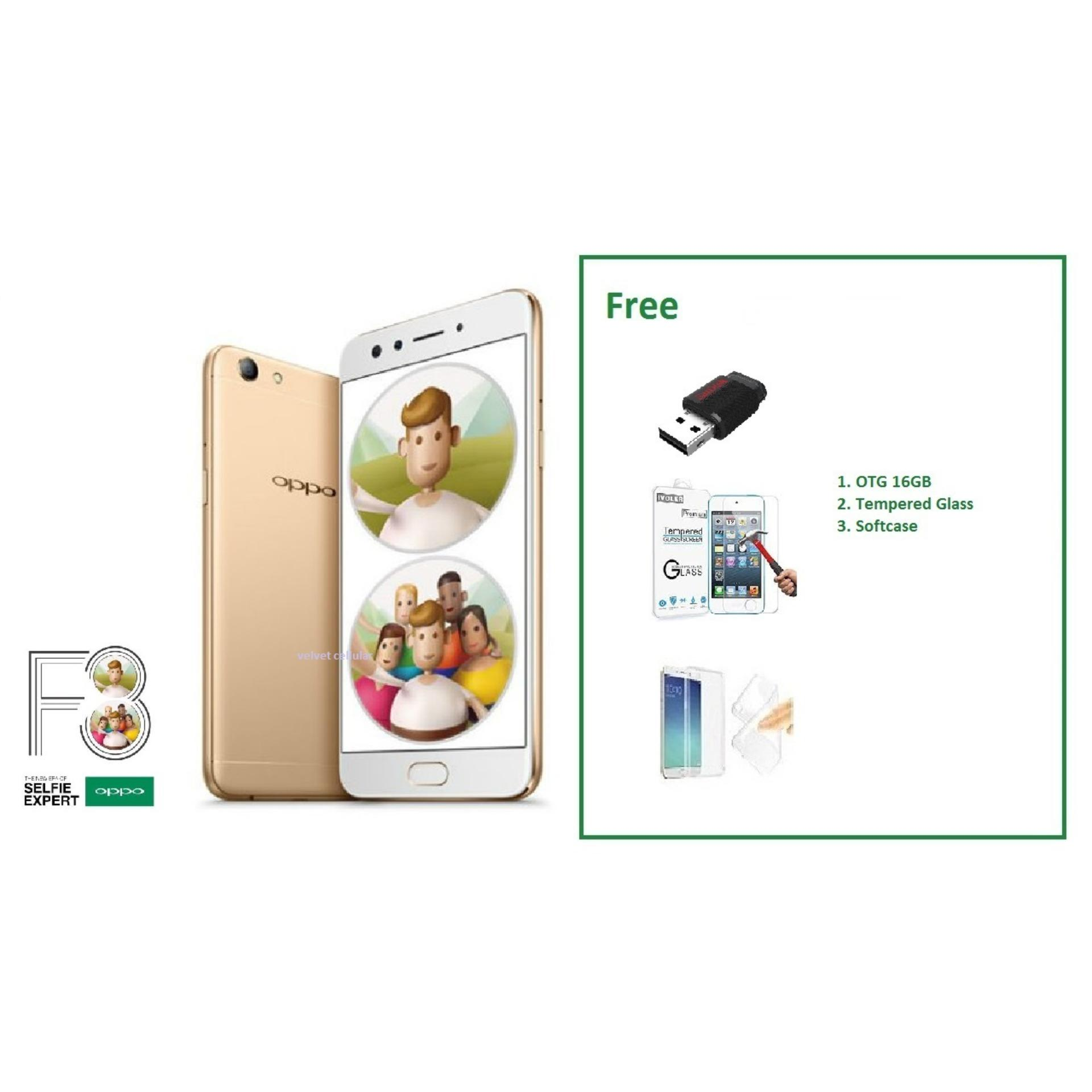 OPPO F3 [4 64GB] Free 3 Item Accessories