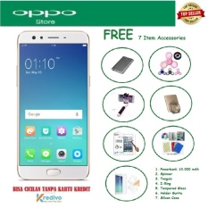OPPO F3 [4/64GB] + Free 7 Item Accessories