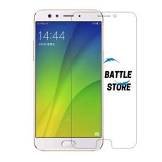 Oppo F3 ( CPH1609 ) Screen Protector Tempered Glass / Anti Gores Kaca - White Clear