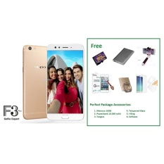 Kualitas Oppo F3 Plus 4 64Gb Free Perfect Package Accessories 6 Item Oppo