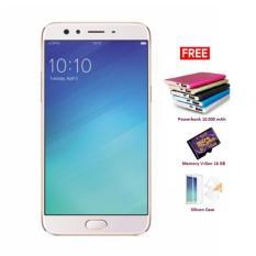 Beli Oppo F3 Plus Smartphone Gold 64Gb 4Gb Free Powerbank Mmc Cilicon Oppo Dengan Harga Terjangkau