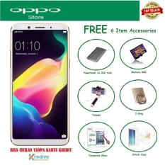 OPPO F5 [4/32GB] + Free 6 Item Accessories