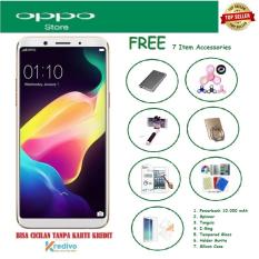 OPPO F5 [4/32GB] + Free 7 Item Accessories
