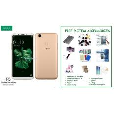 Harga Oppo F5 4 32Gb Free 9 Item Accessories New