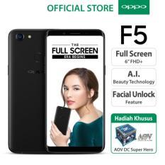 Jual Oppo F5 4Gb Black