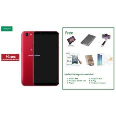 OPPO F5 6GB [6/64GB] + Free 6 Item Accessories
