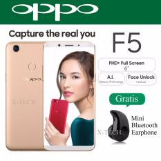 Oppo F5 Capture The Real You Gold Promo Beli 1 Gratis 1