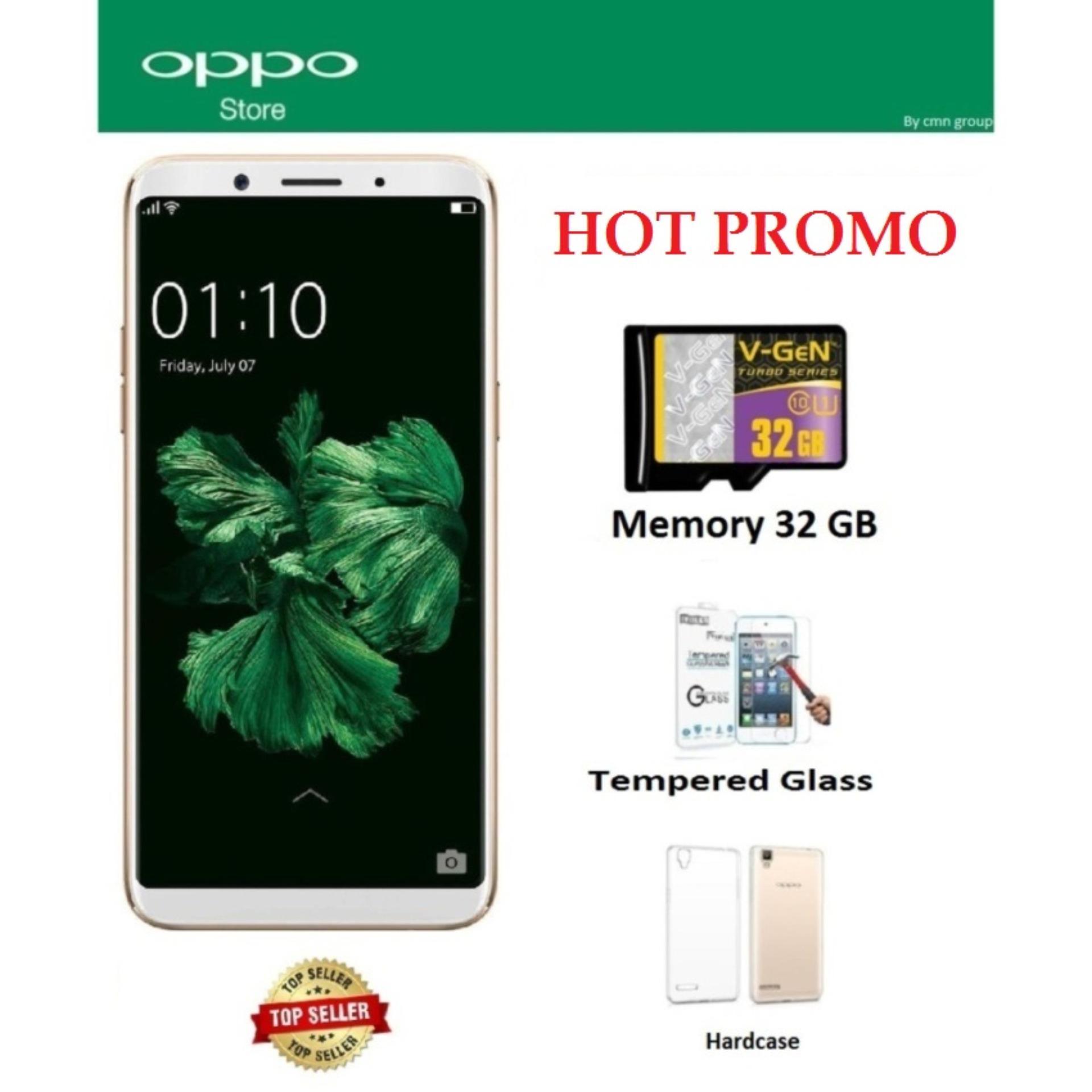 Harga Hemat Oppo F5 Hot Promo Free 3 Item