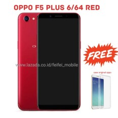 Oppo F5 PLUS RED 6/64 Full View Display