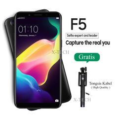 Oppo F5 - Ram 4GB - Layar 6 inch - 4G - Black