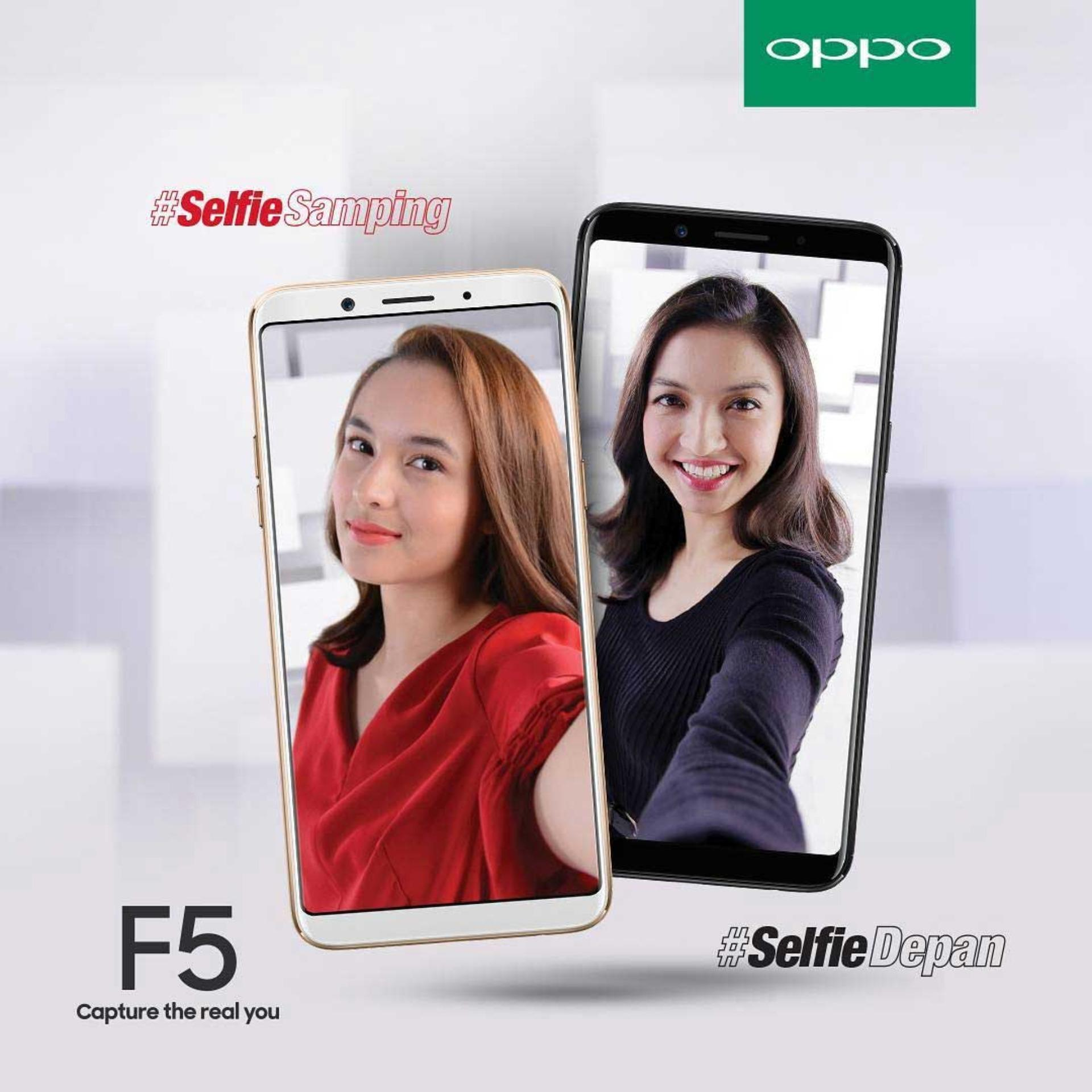 Oppo F5 Smartphone - [32GB/4GB ]- Garansi Resmi 1 Tahun
