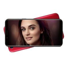 Oppo F5 Smartphone - Red [64GB/6GB] + Speaker Bluetooth + Tongsis + Ring Holder