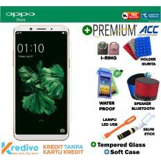 Oppo F5 Youth 3/32 GB - Gold Plus Premuim Accecories Menarik Original