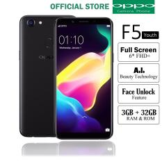 Oppo F5 Youth Ram 3GB/32GB - Black Smartphone