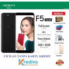 Beli Oppo F5 Youth Ram 3Gb 32Gb Cicilan Tanpa Kartu Kredit Bonus 4 Items Online Terpercaya