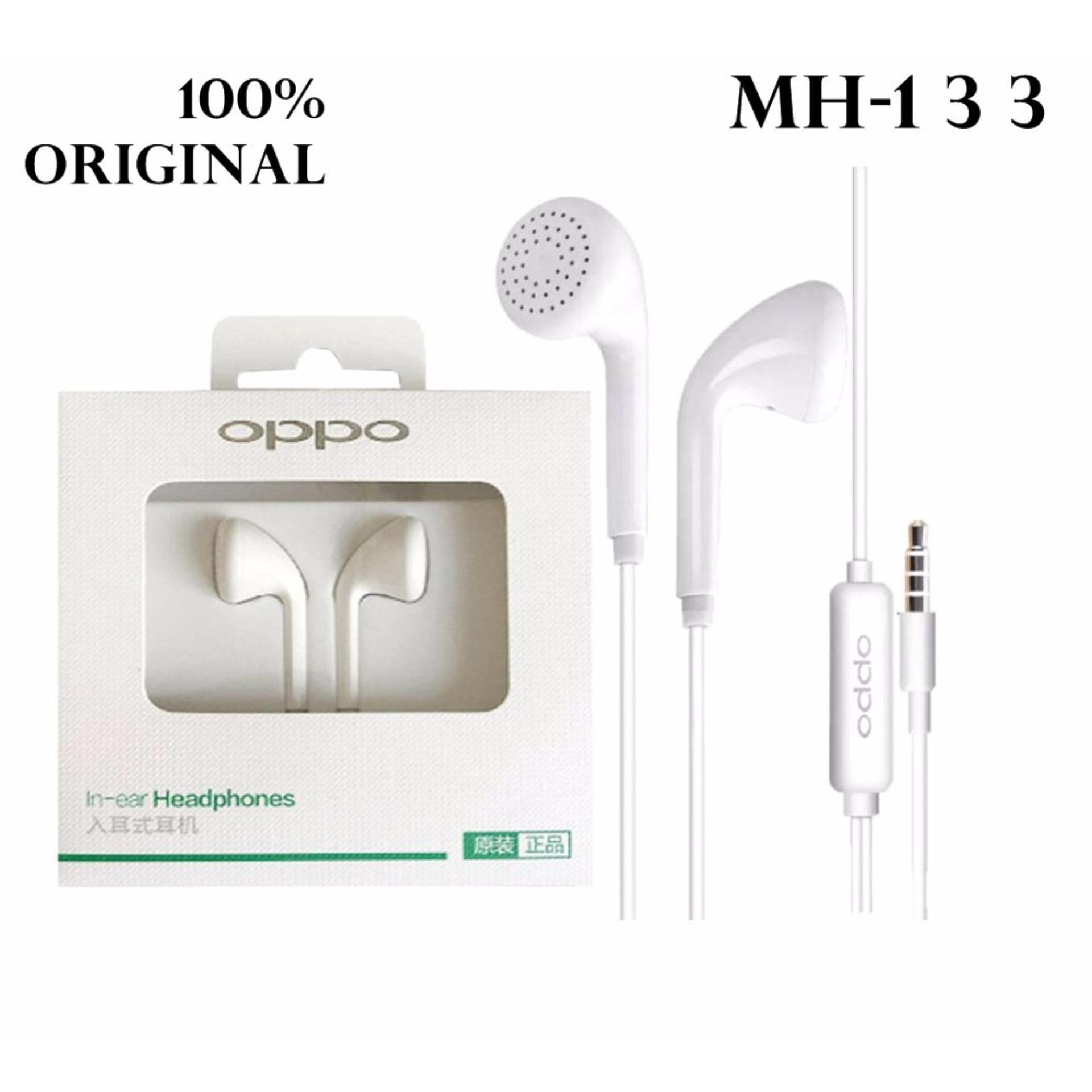 Oppo Handsfree Headset Earphone F1 For Oppo F1 Original F1 Plus Stereo Super Bass