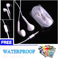 Jual Beli Oppo Hansfree Earphone Headset Original 100 Authentic With Mic Remote Control For Oppo R9 R9Plus A37 A53 A33 White Free Waterproof Universal Baru Dki Jakarta