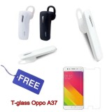 Harga Oppo Headset Bluetooth 4 1 Mega Bass Handsfree Sound Only Excellent Sound Quality With Mic Random Colour Free Temperglass Oppo A37 Universal Dki Jakarta