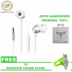 Diskon Oppo Headset Handfree Mh 130 In Ear Phone For Smartphone Android And Iphone Ringstar Thumb Stand Oppo Dki Jakarta