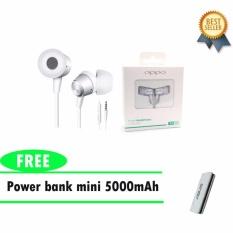 Jual Oppo Headset Handsfree Oppo Mh130 Powerbank Mini 5000Mah Baru