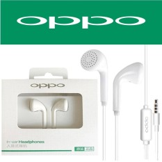 Oppo MH133 Original Music Smart Call Headset / Hansfree Phones Oppo A37, F1s, F3, A39 Connected - White