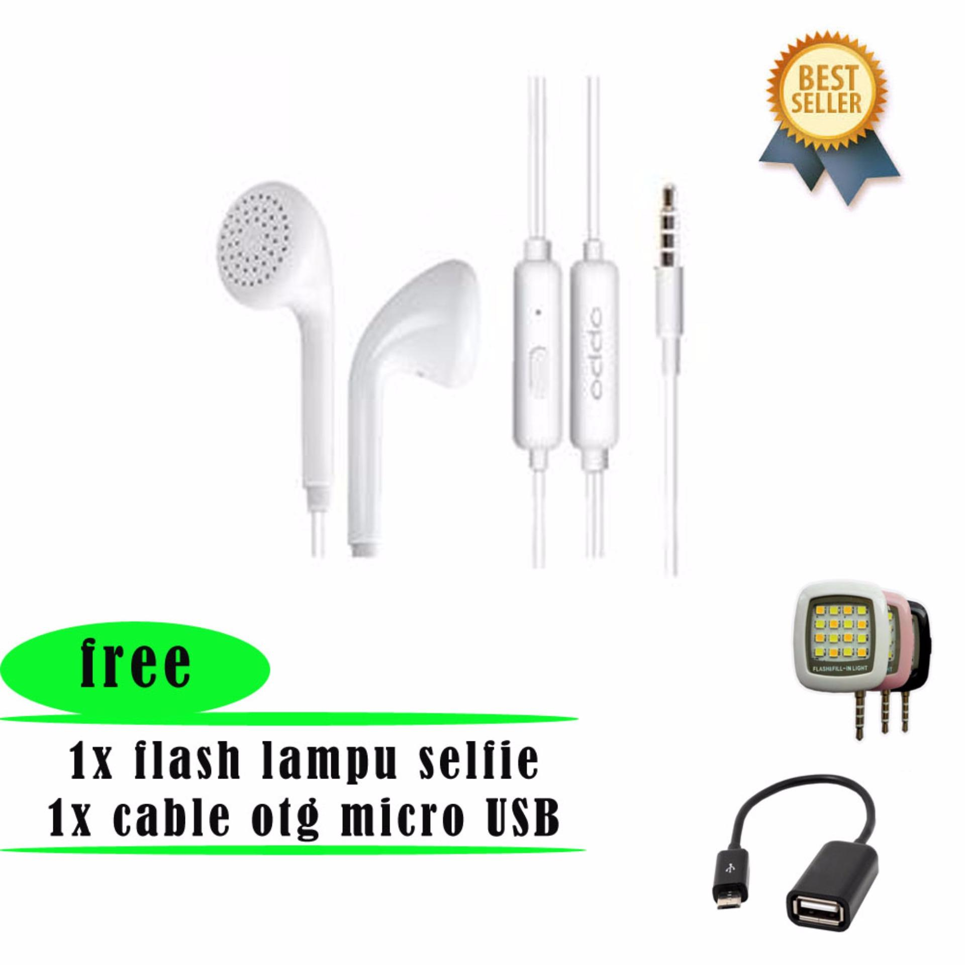 Oppo Mh133 Handsfree Original In Ear Earphone 3 5mm Putih Cek Headset F1 Plus F1s New A39 A37 Neo 7 Terjamin Nyaman Di Telinganbsp Stereo Portable Headphone