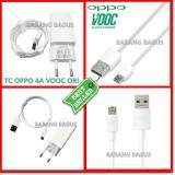 Model Oppo Original Travel Charger Vooc Fast Charging 5V 4A Colokan Bulat Buat Indonesia Micro 7 Pin Vooc Usb Data Cable White Terbaru