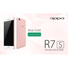 OPPO R7s Rose Gold ─ 4GB/32GB ─ NEW Original ─ GARANSI RESMI
