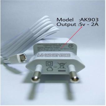 Oppo Travel Adapter 2A Charger MicroUSB type : Ak903 5V Original - white
