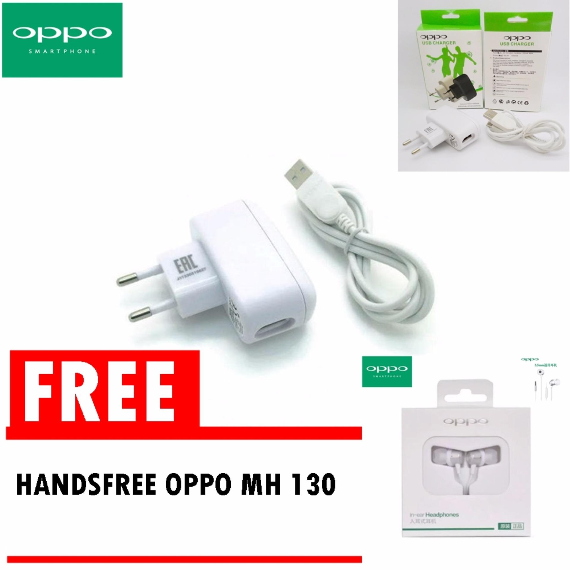 Oppo Travel Charger Cable Data Micro Putih White Free Oppo Original Handsfree Mh130 White Earbud Handsfree Earphones Silver Di Dki Jakarta