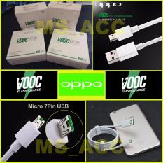OPPO VOOC Kabel Data 4A Micro Usb 7 Pin Fast Charging - Original 100%