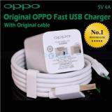 Diskon Oppo Vooc Original Kabel Data Micro Travel Charger Fast Charging 5V 4A Usb Oppo