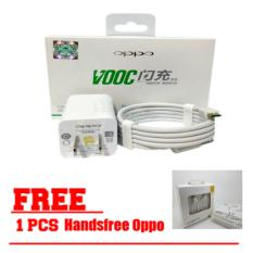 Rp 80.098. OPPO VOOC Original Travel Charger Fast Charging 5V - 4A Kabel Micro USB Data Cable - Putih ...