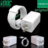 Jual Oppo Vooc Original Travel Charger Fast Charging 5V 4A Kabel Micro Usb Data Cable Putih Oppo Grosir