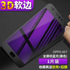 Jual Oppoa57 A57T 3D Layar Penuh Liputan Anti Cahaya Biru Handphone Pelindung Layar Berwarna Pelindung Layar Oem