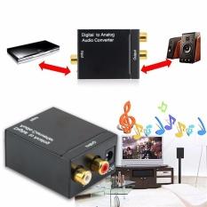 Spesifikasi Optical Coaxial Toslink Digital Ke Analog Audio Converter Adaptor Rca L R 3 5Mm Terbaru