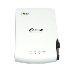 Optimuz Trinita 3300mAh - 3Nita Wireless + Storage + Power Bank - Putih