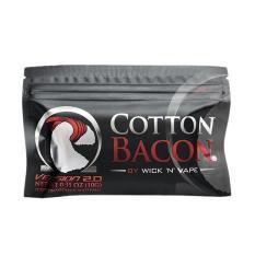 Organic Cotton Bacon Version 2.0 by Wick 'N' Vape - Kapas Organik