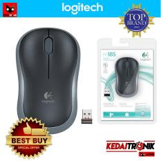 ORI!!! Logitech M185 Wireless Mouse Nano Receiver M 185
