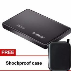 Jual Cepat Orico 2588Us3 Harddisk Enclosure 2 5 Inch Usb 3 Gratis Shockproof Case