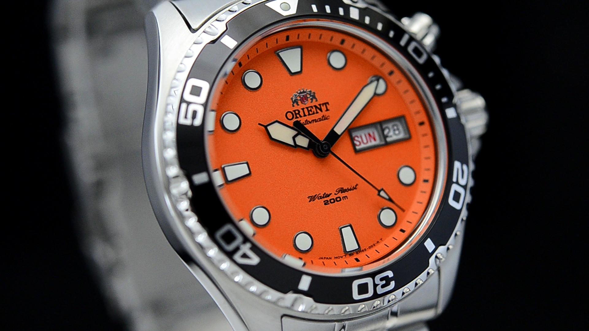 Beli Orient Diving Sports Automatic Orange Ray Fem6500Am9 Jam Tangan Pria Sport Yang Bagus