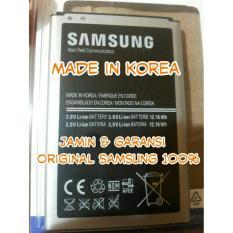 Original 100 Baterai Batre Batere Battre Samsung Galaxy Note 3 / Note3 N9000 N9005 B800BU