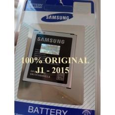 ORIGINAL 100% Baterai Batre Batery Battery Batrei Batere Battre Batrai SAMSUNG Galaxy J1 2015 . J1 Lama . J100 . J100H . J100G . SM-J100H .EB-BJ100BBE