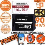 Beli Original 100 Toshiba Micro Sd 90Mb S 4K Action Cam Gopro Smartphone Class10 Uhs 3 Gratis Antivirus Mc Afee Pop Socket Kabel Aux Audio Lengkap