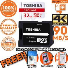 Toko Original 100 Toshiba Micro Sd 90Mb S 4K Action Cam Gopro Smartphone Class10 Uhs 3 Gratis Antivirus Mc Afee Pop Socket Sim Card Adapter Online Dki Jakarta