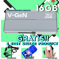 Daftar Harga Original 100 V Gen Usb 3 Flashdisk Titans 16Gb Flash Disk Drive Gratis Pop Socket Waterproof Smartphone Handsfree Vgen