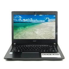 ORIGINAL  Acer E5 475 Core i3 6006U/4GB/ 1TB/DOS NEW GARANSI RESMI ACER